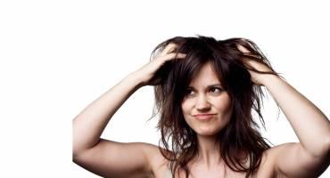 Perspiring Scalp and Hair