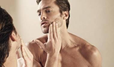 Mannen verzorging huid en lichaam