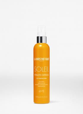 Soleil Vitalite Express 150ml verzorgende 2-fasespray beschermt het haar tegen de zon
