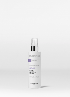 La Biosthetique Methode Dermosthetique Anti-Aging Fluid Volume met creatine complex voor een direct zichtbare toename in volume, textuur en levendige glans.