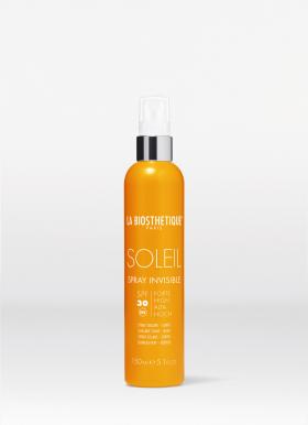Spray Solaire Invisible SPF 30 150ml Waterbestendige, transparante zonnespray,trekt onmiddellijk in de huid.
